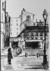 Sketch of Paris