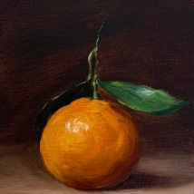 """Clementine, 5""""x7"""", SOLD"""